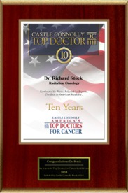 America's Top Doctors for Cancer 2015: 10 years
